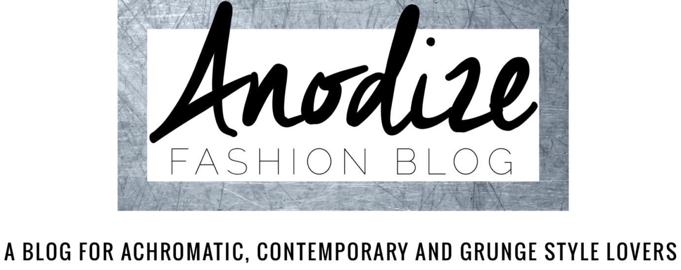 Anodize Fashion Blog